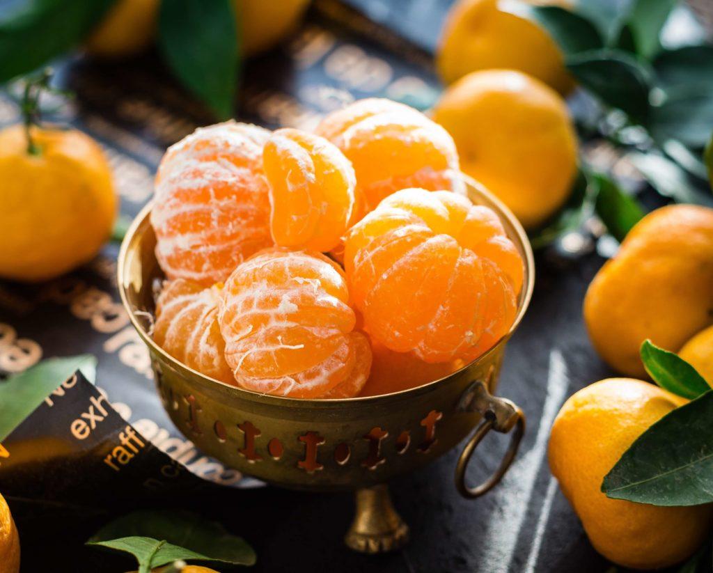 appetizing citrus clementines